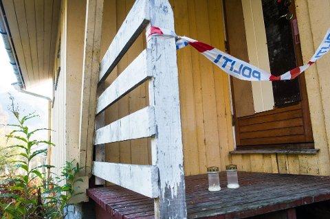 LYS: Det var i denne boligen at Magnar Sivertsen (55) ble funnet død lørdag 21. september i 2013. (Foto: Eirik Bjørklund)