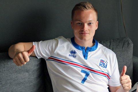 Aron Sigurdarson imponerte i Islands seier mot Irland denne uken, så mye at BBC, et av verdens største og mest seriøse medier, kåret han til banens beste. Det lover bra for TIL.