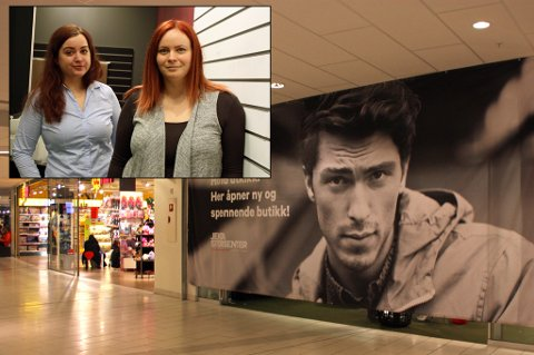 ÅPNER NYTT: Elisabeth Karlsen og Anette Mauno Torbjørnsdatter gleder seg til butikkåpningen om en uke. Foto: Astrid Øvre Helland.