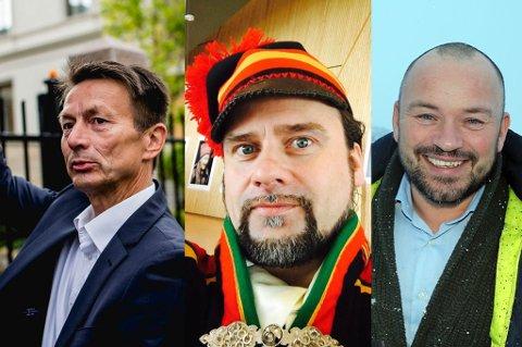 Hans Kristian Amundsen, Per Heimly og Mikkel Gaup