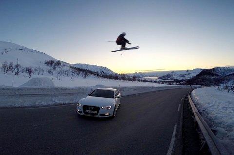 Bileier er Lars Bjørgesæter. Skikjører er Tommy Amundsen. Foto: Iselin Indal Klausen
