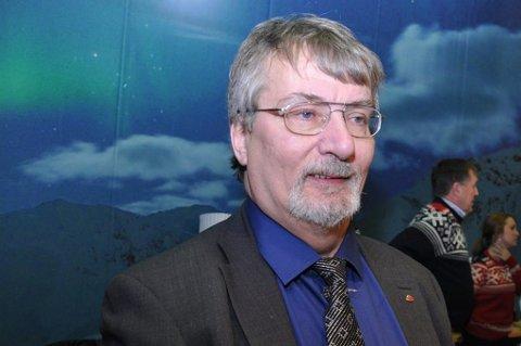 MILLIONFISKER: Fylkesordfører Knut Werner Hansen takker fiskerkarrieren for at han er på formuestoppen blant fylkeslederne i Troms.