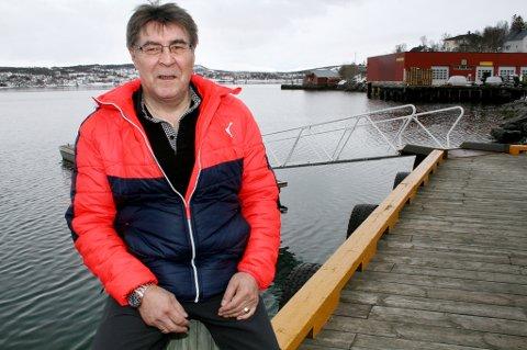 SPENSTIG: Inge Harald Pedersen søker trålkonsesjon og vil levere alt i Finnmark.