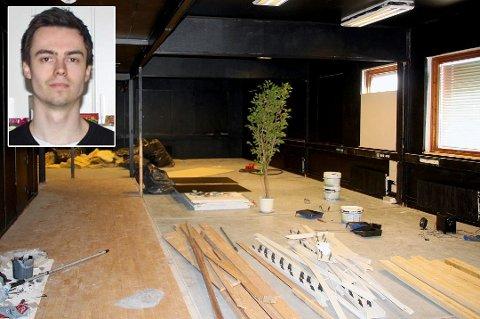 """SLUTT: Selskapet """"Darklight AS"""" i Tromsø har gått konkurs. - Vi fant til slutt ut at det ikke var liv laga lenger, sier daglig leder Brynjar Johansen (innfelt). (arkivfoto)."""