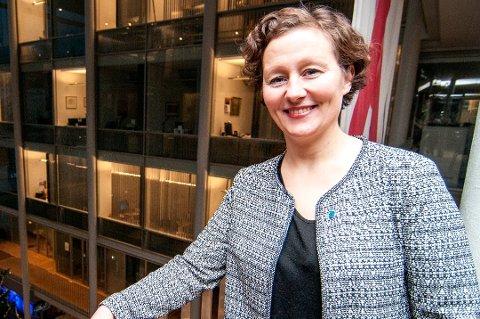 FORNØYD: Hun er fornøyd med Tromsøs utelling i Nasjonal transportplan. Men samtidig gjør ordfører Kristin Røymo klart at hun forventer en rask byggestart på nye E8 i Ramfjord.