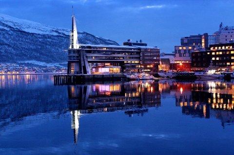 KONKURS: Arkitektkontoret som tegnet Ishavshotellet i Tromsø er konkurs.