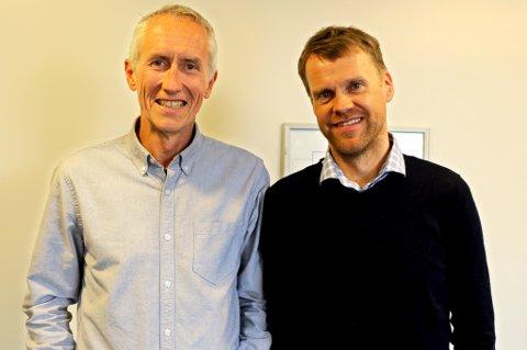 Styreleder Eirik Torbergsen (t.h.) har ansatt Alf B. Dahl som ny daglig leder.