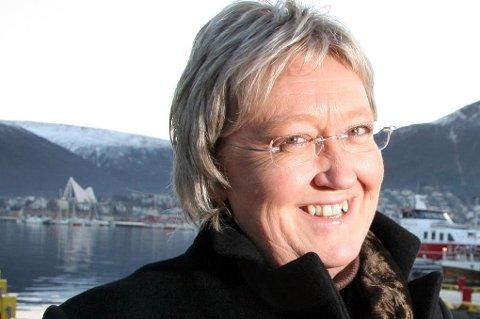 SØKER: Elisabeth Aspaker blir fylkesmann i Troms fra høsten av. Deretter vil hun søke på den nye stillingen som fylkesmann for Troms og Finnmark, når den skal tilsettes i januar 2019.