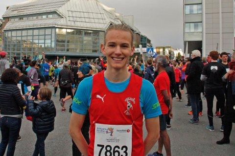 TALENT: Stian Dahl Sommerseth har skiftet ut fotballskoene med løpesko.