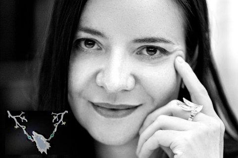 Smykkedesigner Ina Gravem Johansen kom på pallen for tredje gang i designkonkurransen.