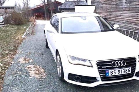 STJÅLET: Tromsømannen i 20-årene er blant annet dømt for å ha stjålet bilen til sønnen til Tromsøs tidligere ordfører.