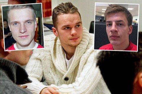 POSITIVE MELDINGER: Mikael Norø Ingebrigtsen (f.v), Kent-Are Antonsen og Jostein Gundersen har alle fått gladmeldinger denne helga.
