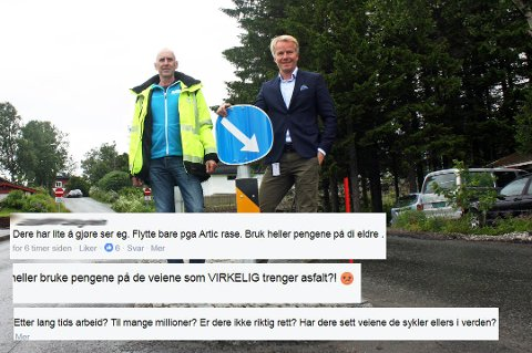 SINTE: Responsen på flyttingen på Tromsø kommunes facebook-side lot ikke vente på seg. Mange er negative.