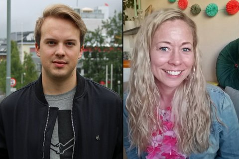 NY JOBB: Det gikk en uke fra sykepleierutdannelsen var ferdig til Lars Martin Sandbakken (24) fikk jobb. For juristen Guro Rustad Grebstad (32) gikk det ikke like fort. Foto: Astrid Øvre Helland/Privat