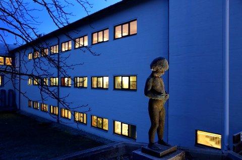 Lærerutdanningen ved UiT på Mellomvegen i Tromsø