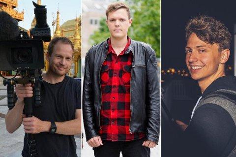 NYE JOBBER: Frode M. Skog (44), Erlend Koppergård (25) og Fabian A. Ubeda (28) har fått jobb i NRKs riksavdeling i region nord. Skog og Koppergård kommer flyttende fra henholdsvis Asker og Oslo, mens Ubeda er fra Tromsø.