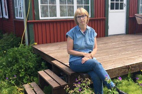 BURSDAG: Ragnhild Nilsen feirer bursdagen sin på hytta, bare fire dager etter at hjerteinfarktet ble oppdaget.