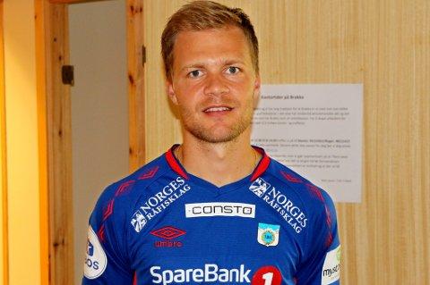 HJEMME IGJEN: Jo Nymo Matland skal blant annet ha vært i konkrete samtaler med Sogndal, men valgte å vende hjem til Tromsø og TUIL – blant annet for å studere og sikre seg flere bein å stå på ved siden av fotballen.