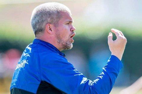 TUIL-trener Gaute Helstrup var fornøyd med ett poeng mot Start.