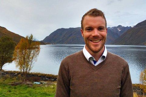 Ordfører Eirik Losnegaard Mevik i Kvænangen kommune.