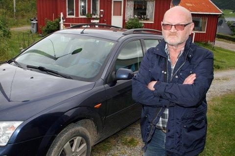 Jon Arne Jensen reagerer på at han er fratatt førerkortet selv om han ikke har kjørt ulovlig.