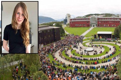 TAR OVER: Kirsti Seljenes er sjefredaktør for den nye studentavisen på UiT. Fredag ble lanserte de avisen - denne gangen som nettavis.