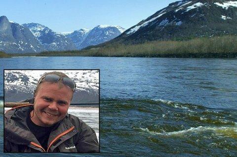 JAKTER HELE DAGEN: Freddy Sandmo er mannen som skal felle selen i Reisaelva. Foto:Privat/arkiv