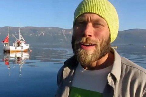 ASFALTLUKT ER GAMMELDAGS: Det sier  Mikal Nerberg, Miljøpartiet de Grønnes førstekandidat i Troms. Foto: Torkil Emberland
