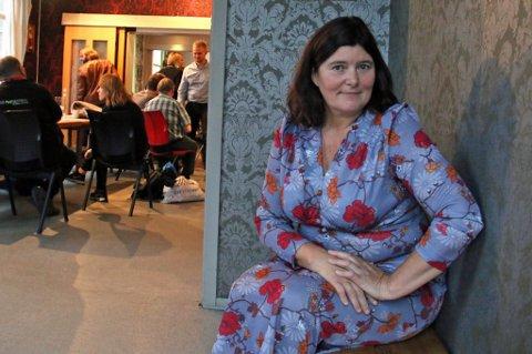 MER KRAFT: Ann Karina Sogge, daglig leder for Kirkens Bymisjon i Tromsø, savnet mer kraft fra politikerne i kampen mot barnefattigdom i Tromsø. Foto: Astrid Øvre Helland