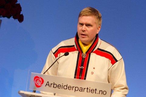 Ronny Wilhelmsen er Arbeiderpartiets presidentkandidat til Sametinget.