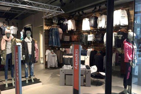 KOMMER TIL TROMSØ: I november åpner den niende Superdry-butikken i Norge - på Jekta.