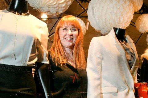 JUBILEUMSFEST: Mona Abelsen har drevet klesbutikken MAS i 20 år. Det skal feires. Arkivfoto.