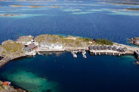 FANTASTISK REKLAME: Hamn var bare en av stedene den engelse storavisa The Guardian besøkte på Senja i sommer.