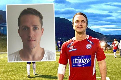 MÅLFARLIGE: Mats Tunstad (innfelt) og Aleksander Lenning scorer mest i troms-fotballen. Kompisene duellerer nå om toppscorertittelen i 4.divisjon.