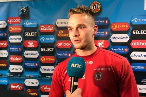 TILS BESTEMANN: Kent-Are Antonsen fikk skryt av Kjetil Rekdal etter kampen mot Odd, og toppet også TIL-børsen til Nordlys.