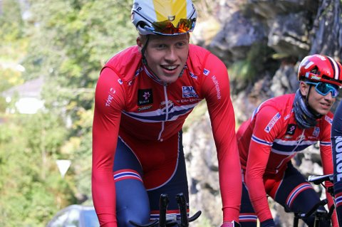 Andreas Rikardsen Leknessund (18) skal satse full tid på sykkel etter videregående. Den muligheten får han av det norske kontinentallaget Uno-X Hydrogen. De forbereder talentet på en tøff overgang til seniorklassen.