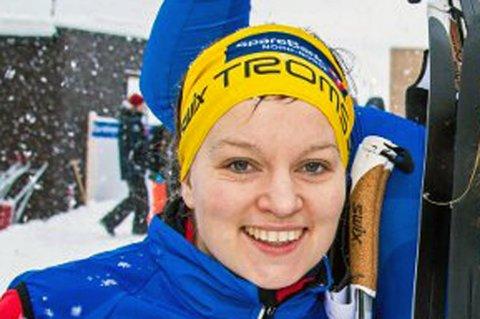 Berthe Anette Svenkerud ble nummer syv på ti kilometer fri under NM på ski.