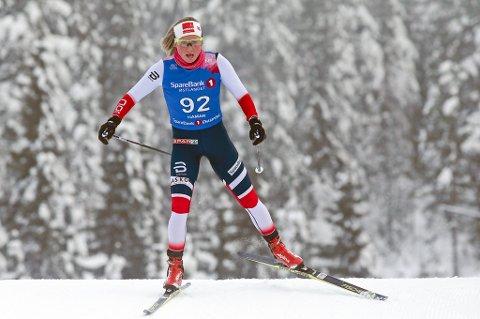 Silje Theodorsen ble beste tromsløper på åttendeplass under 15 kilometer skibytte under NM på ski lørdag.