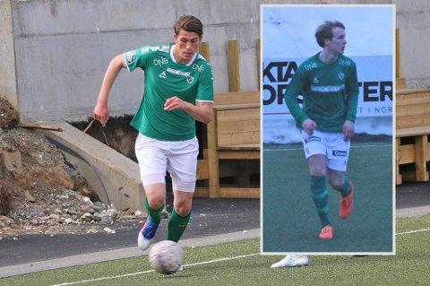 NYE KLUBBER: Erlend Vangdal (t.v.) og Geirald Meyer var to viktige brikker for Fløya i 2017. Nå har Vangdal signert for Ullern, mens også Meyer nærmer seg ny klubb.