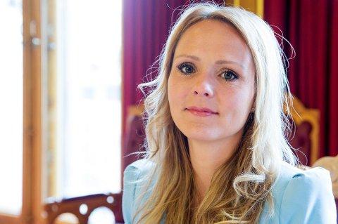 KOMMER IKKE: Kulturminister Linda Hofstad Helleland rakk ikke flyet til Tromsø, og vil dermed ikke holde åpningstalen under TIFF.