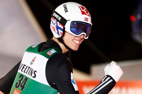 VM-KLAR: Johann André Forfang skal gjennom både kvalifisering og det første VM-rennet i skiflyging i Oberstdorf fredag.