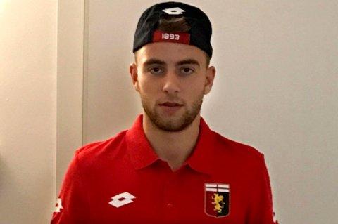 LYSERE TIDER: Brage Berg Pedersen mener den første tiden alene i italienske Genoa var veldig tøff, men nå begynner det å komme seg med både språk og spilletid. 18-åringen vet ennå ikke om han fortsetter i Italia til sommeren eller reiser hjem til Tromsø og TIL.