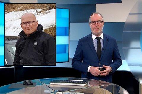 SNUDDE: Gisle Halvorsen (innfelt) engasjerte seg i kuttene i distriktssendingene til NRK. Nå har statskanalen snudd.