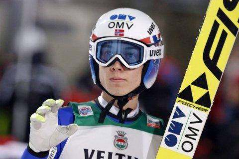OL-KLAR: Johann André Forfang fikk som ventet en billett til vinter-OL i Sør-Korea.