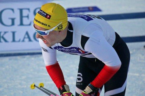 I EGEN KLASSE: Håkon Mikalsen utklasset konkurrentene under KM på ski i Tromsø lørdag, selv om han har trappet ned satsingen. Etter påske skal han igjen bosette seg i Tromsø, og vil da satse hardere igjen.