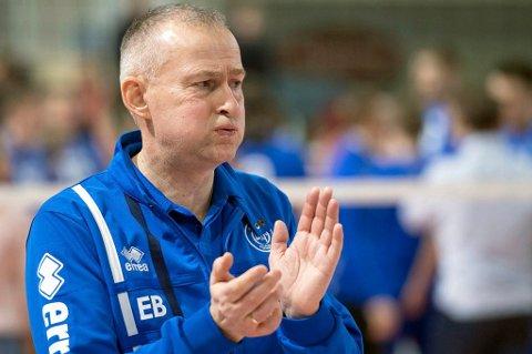 IRRITERT: Edgar Broks satte klare ord på skuffelsen etter at han hadde sett BKT-laget sitt bli feid av banen mot danske Marienlyst i Nordic League.