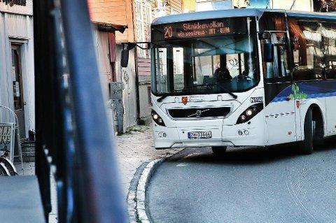 NYE TAKSTER: Det blir nye takster på buss, båt og ferge fra 1. februar.