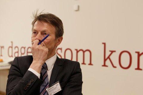 GÅR AV: Hans Kristian Amundsen trekker seg som sekretariatsleder for Arbeiderpartiets stortingsgruppe. Arkivfoto.