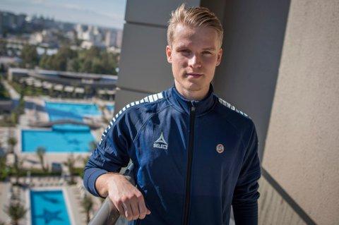 I FORHANDLINGER: Det skal gjennom tirsdagen pågå en dialog mellom TIL og IFK Göteborg om Mikael Norø Ingebrigtsen. Kommer man i mål, kan ting skje fort. Svenskene reiser onsdag på treningsleir til Murcia, og skal ønske å ha med seg 21-åringen i Spania.