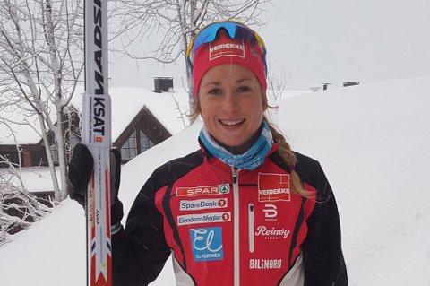 STERK START: Anna Svendsen knallet til i prologen under Skandinavisk Cup.
